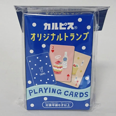 zz-- Calpis Soda Playing Cards --zz
