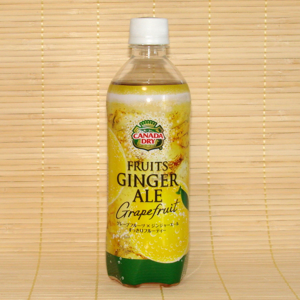 Canada Dry - Fruits Ginger Ale Soda