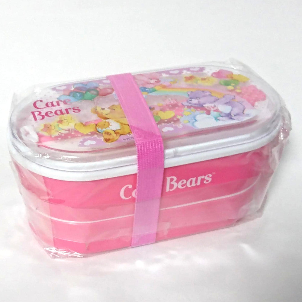 zz-- Care Bears Bento Case with Chopsticks --zz