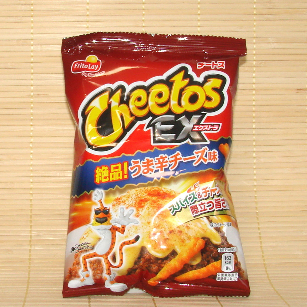 Cheetos EX - Extremely Spicy Cheese