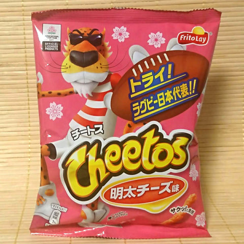 Cheetos - Mentaiko Cheese (Rugby Edition)