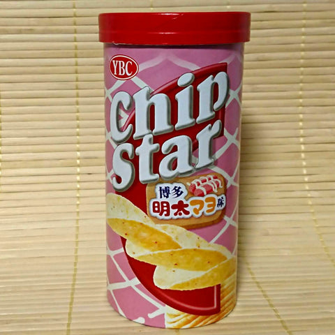 Chip Star - Mentaiko Cod Roe & Mayonnaise (Stout Can)