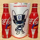 Coca Cola 2020 Olympic -  2 Bottles & Towel Set