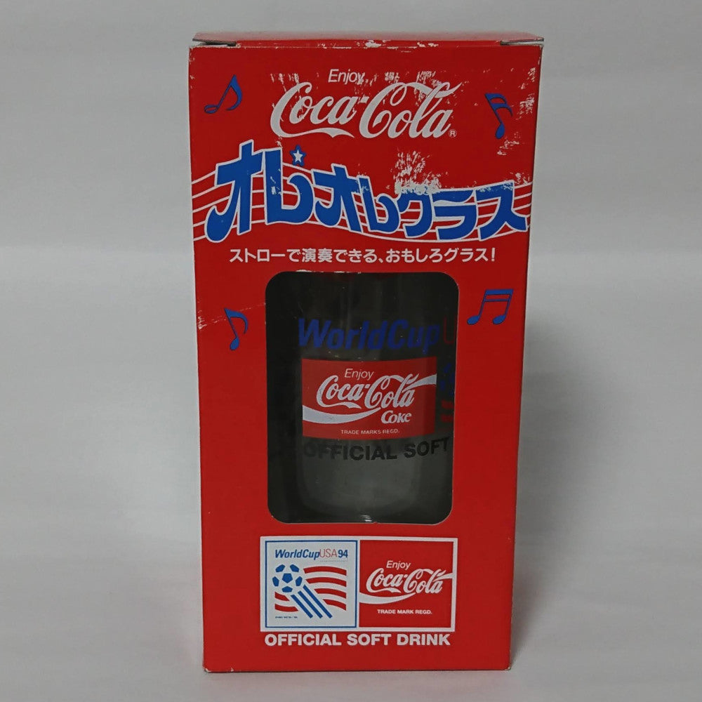 zz-- Coca Cola - World Cup 94 Musical Glass --zz
