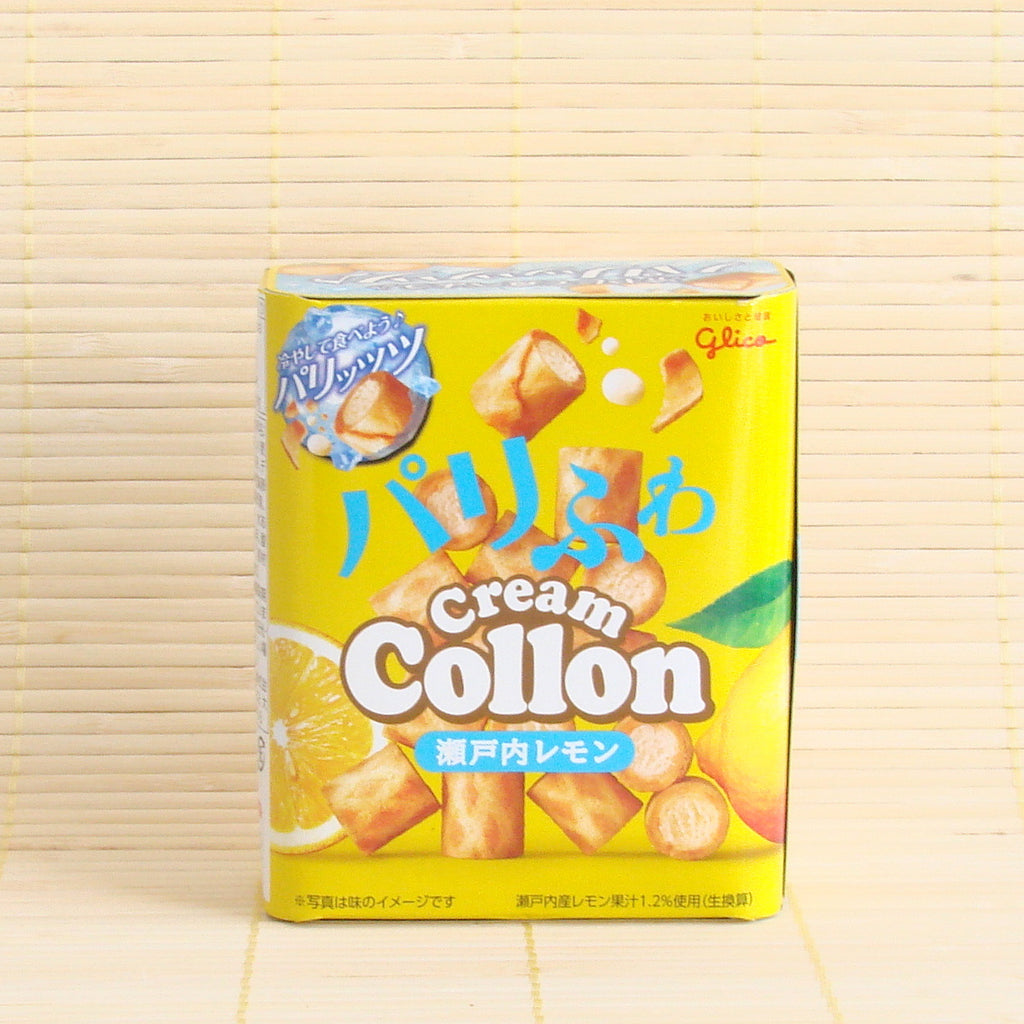 Collon Filled Cookies - Lemon Chocolate