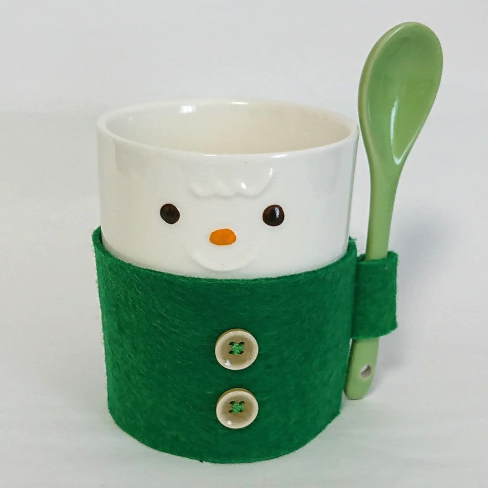 zz-- Cozy Character Mug and Spoon --zz