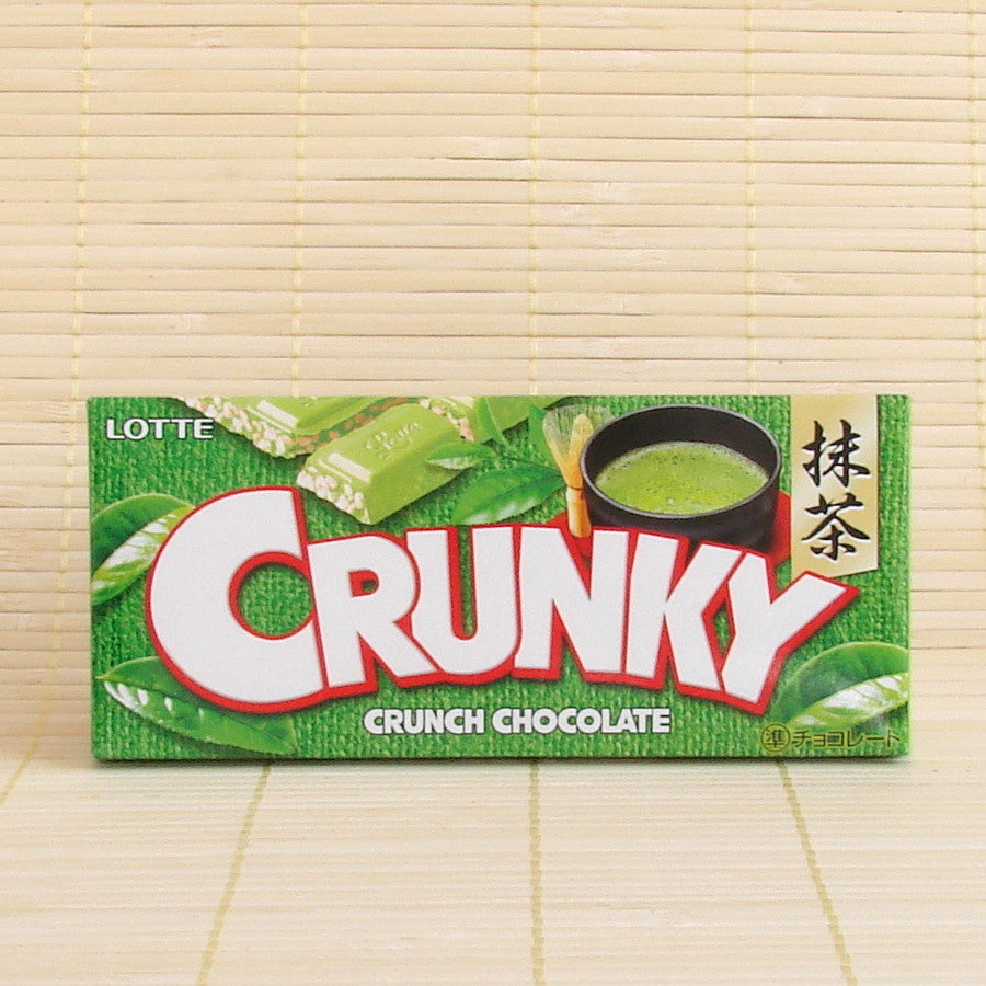 Crunky - Green Tea Chocolate Bar