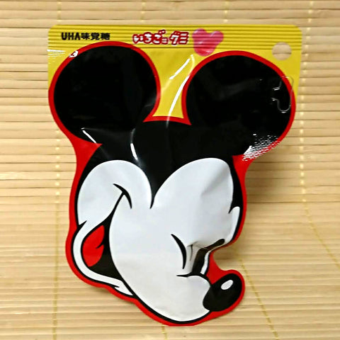 Mickey Mouse Mini Gummy Candy - Strawberry