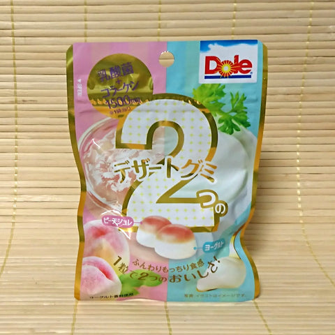 Dole Gummy Candy - Dessert Peach Yogurt
