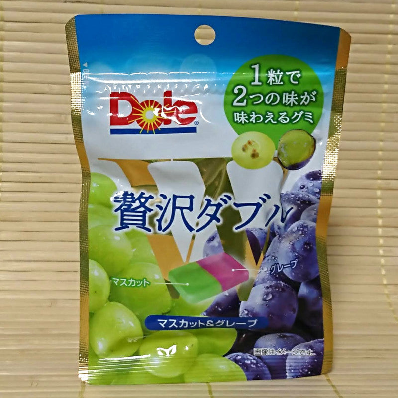 Dole Gummy Candy - Muscat & Red Grape