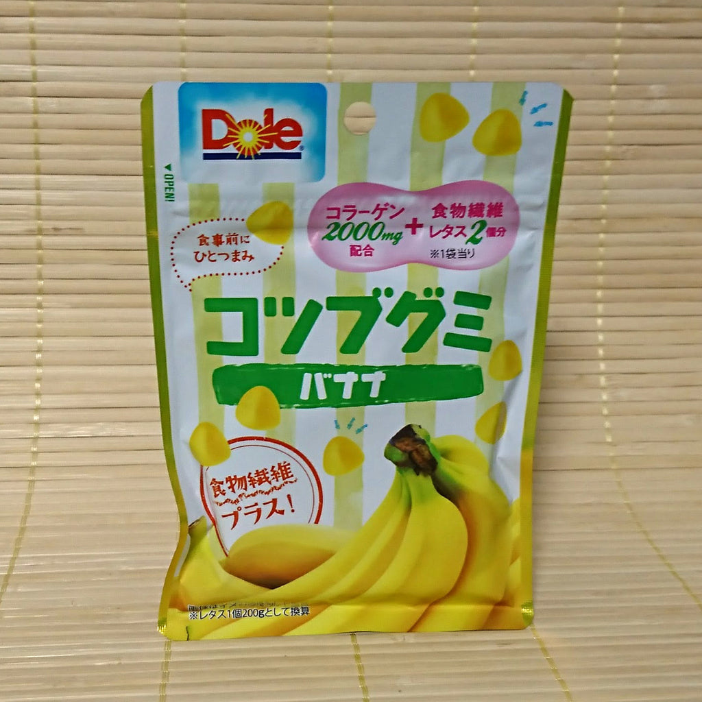 Dole Kotsubu Mini Gummy Candy - Banana