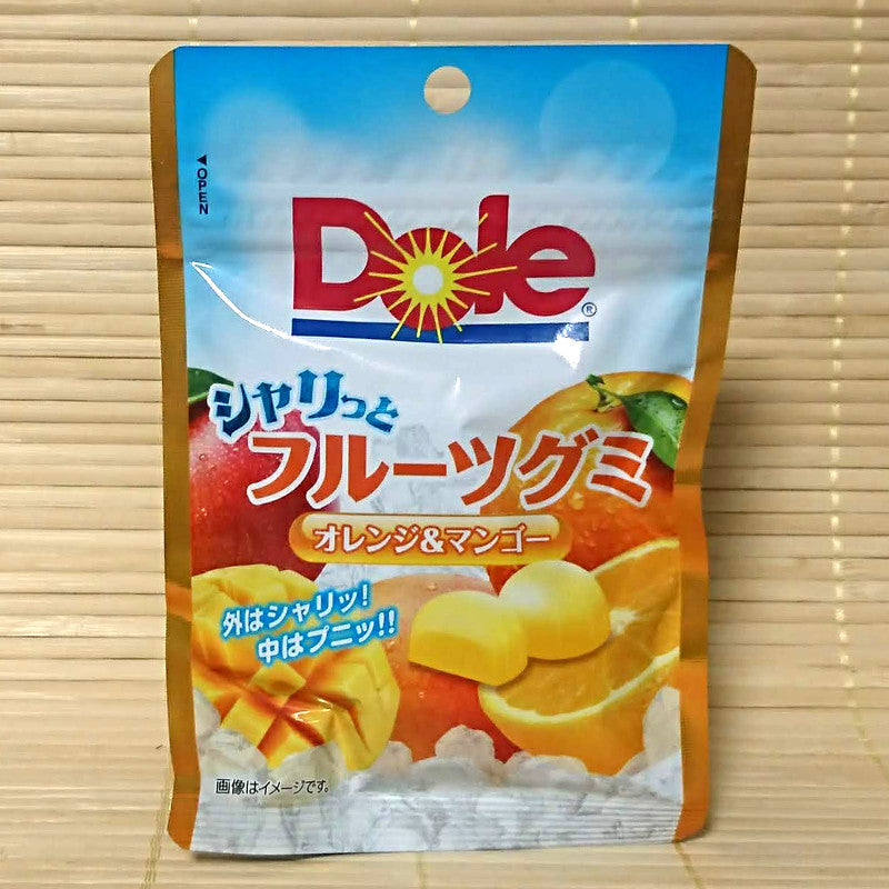 Dole Gummy Candy - Orange Mango