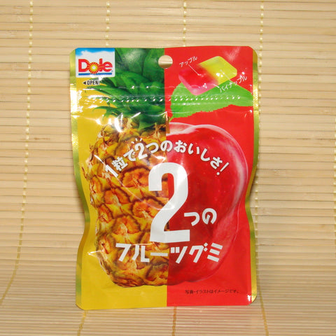 Dole Gummy Candy - Pineapple & Apple