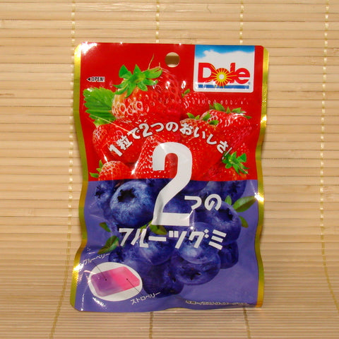 Dole Gummy Candy - Strawberry & Blueberry