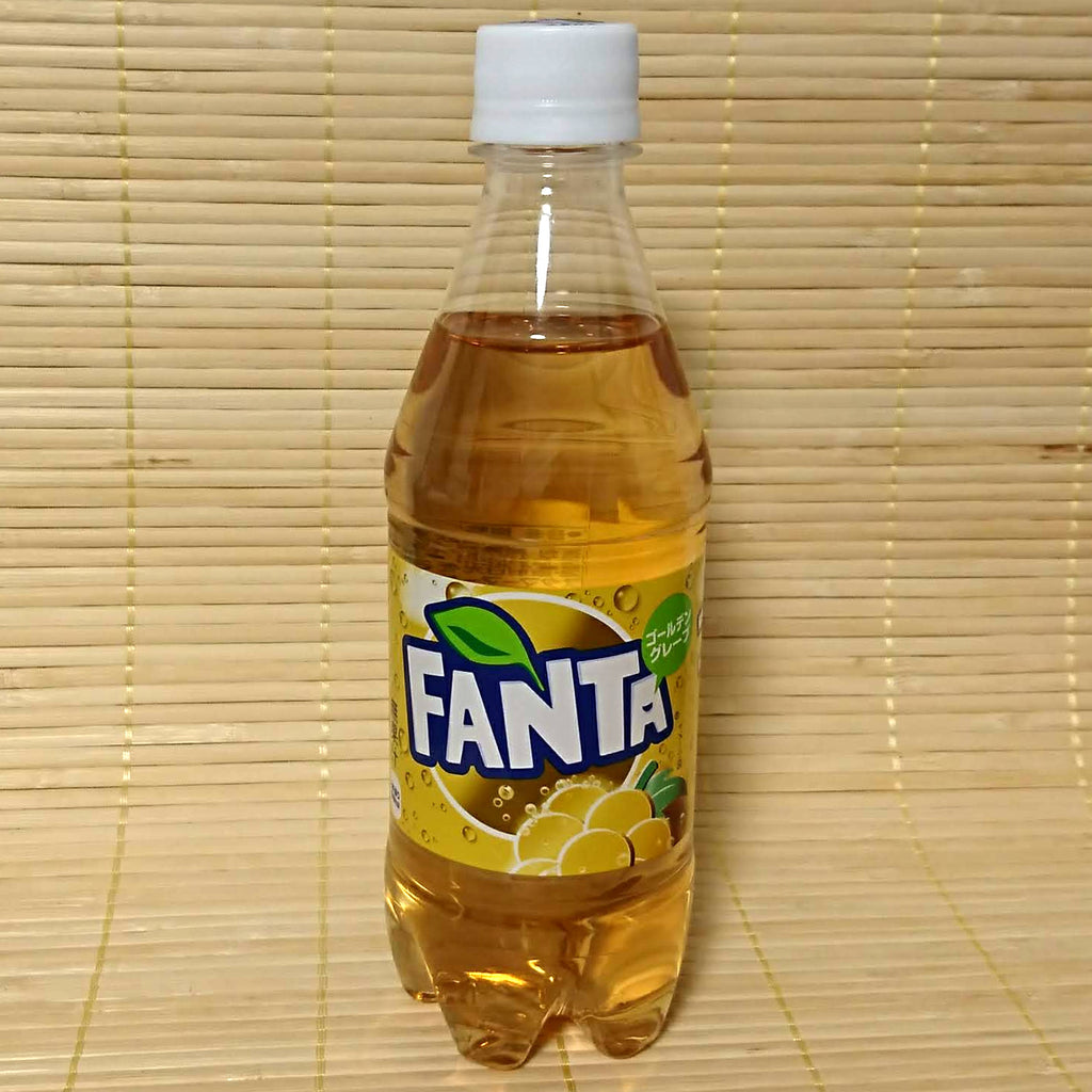 Fanta Soda - Golden Grape (Rare Edition)