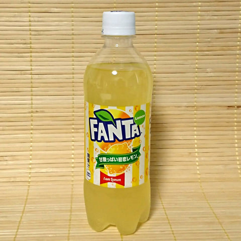 "Fanta - ""I AM"" Lemon Soda"
