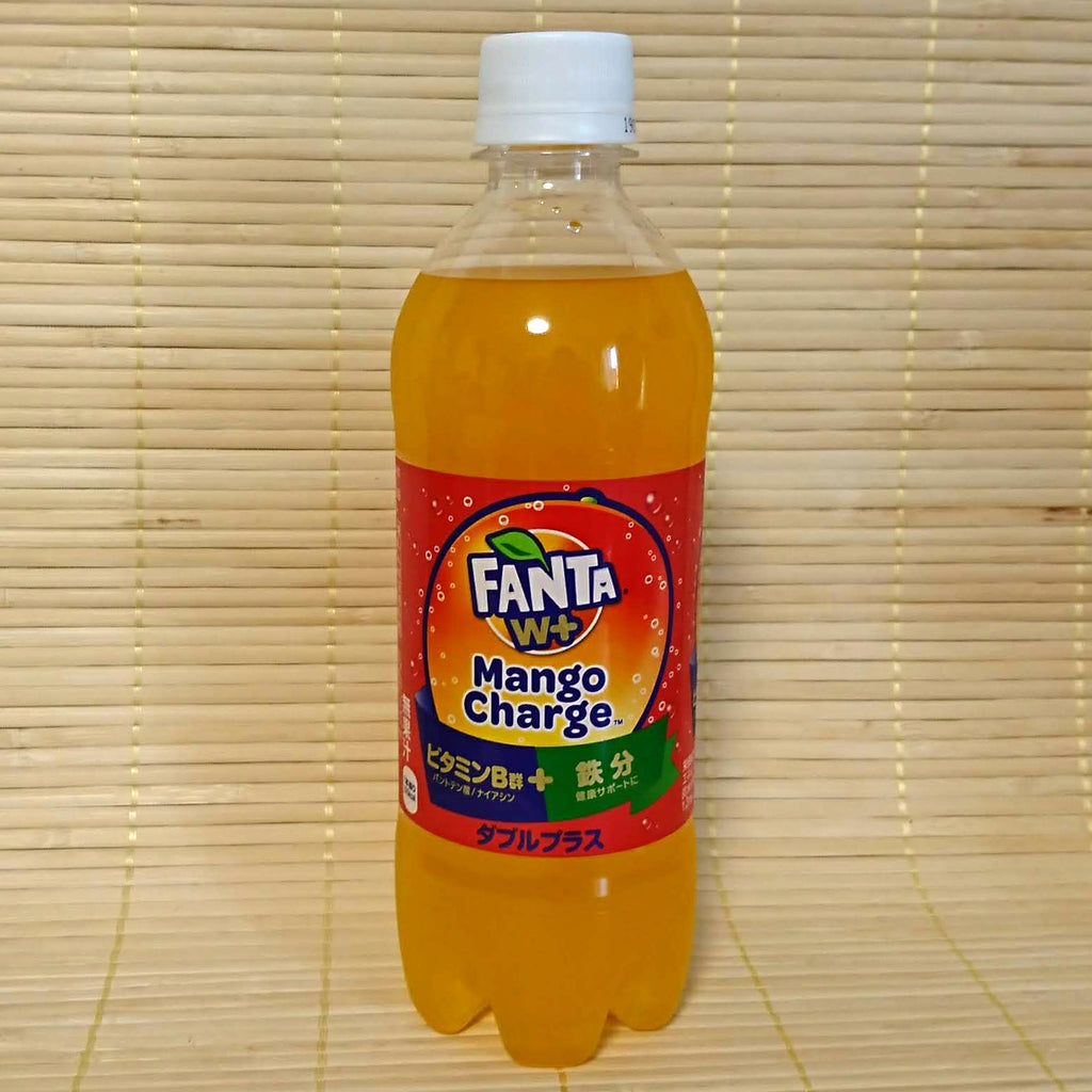 Fanta Soda - Mango Charge (with Iron)