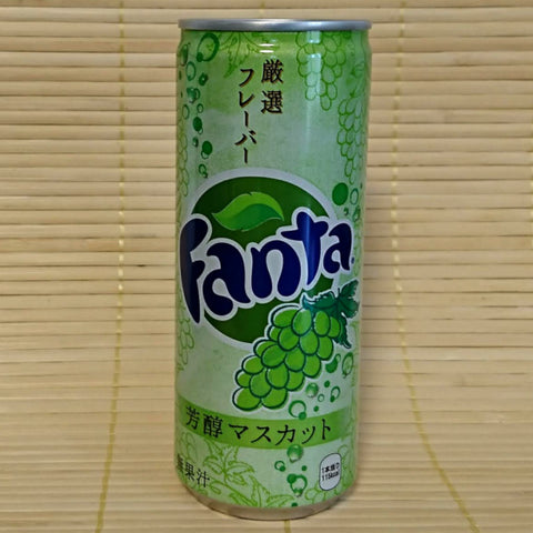 Fanta Slim Can - Green Muscat Grape