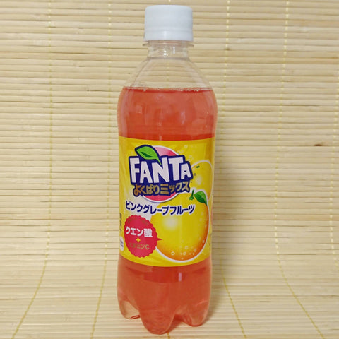Fanta - Pink Grapefruit Soda