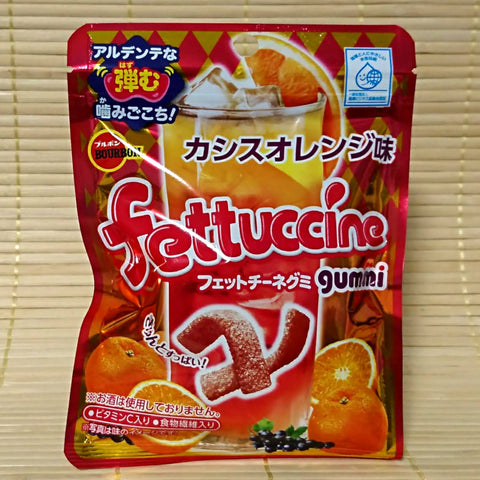 Fettuccine Gummy Candy - Cassis Orange