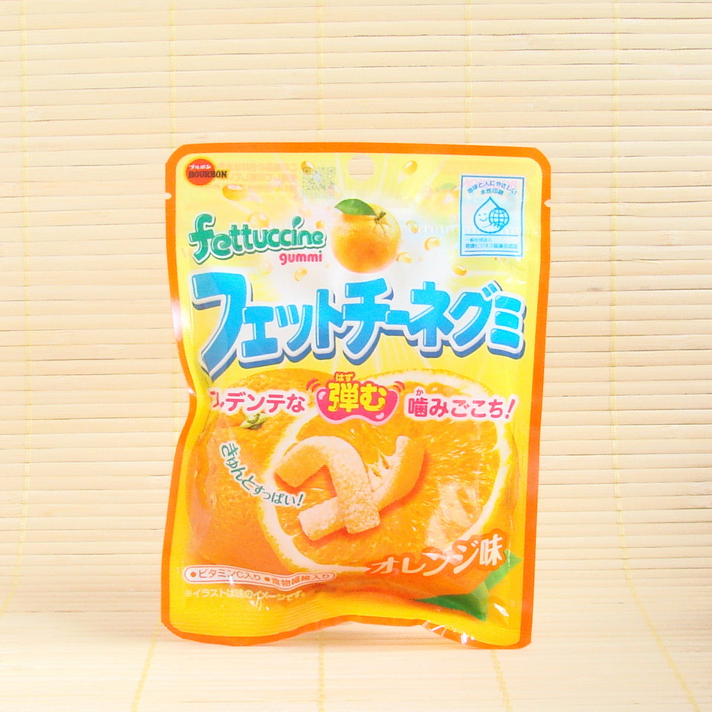 Fettuccine Gummy Candy - Orange