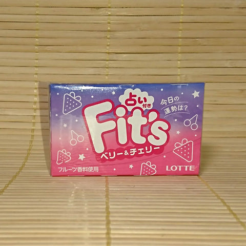 Fit's Chewing Gum - Berry and Cherry