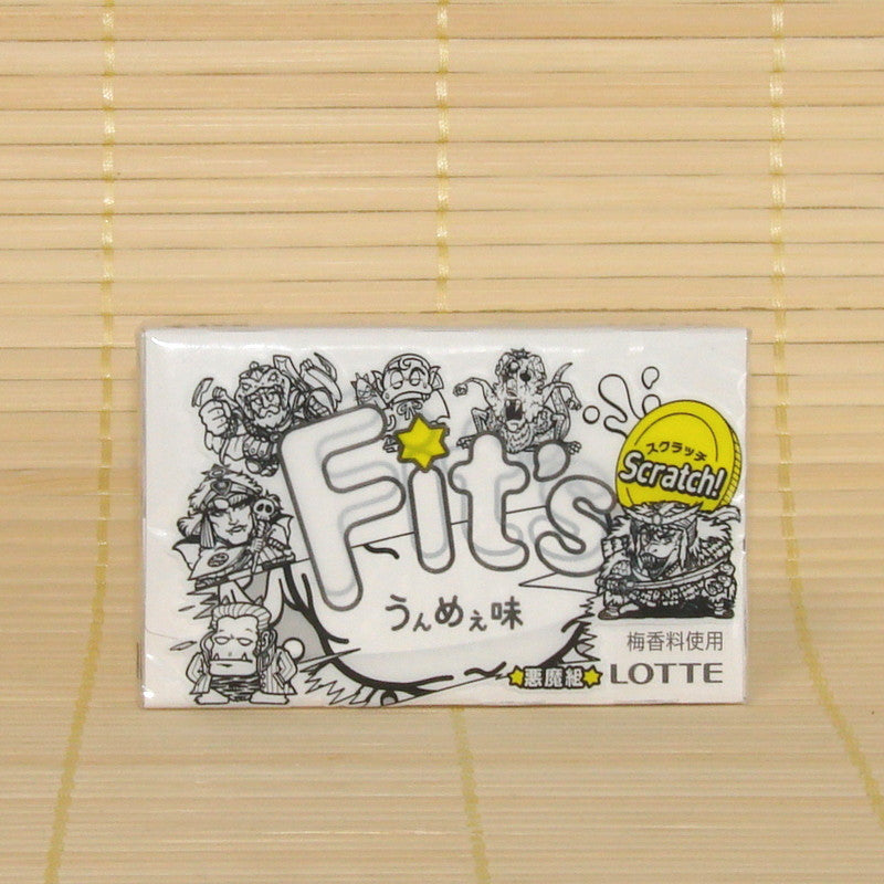 Fit's Chewing Gum - Ume (Sour Plum)