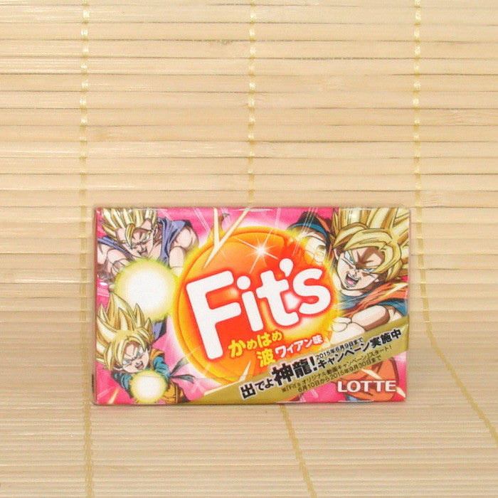 Fit's Chewing Gum - Mixed Fruits (Dragon Ball)