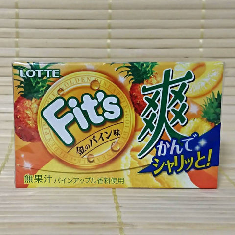 Fit's Chewing Gum - Golden Pineapple