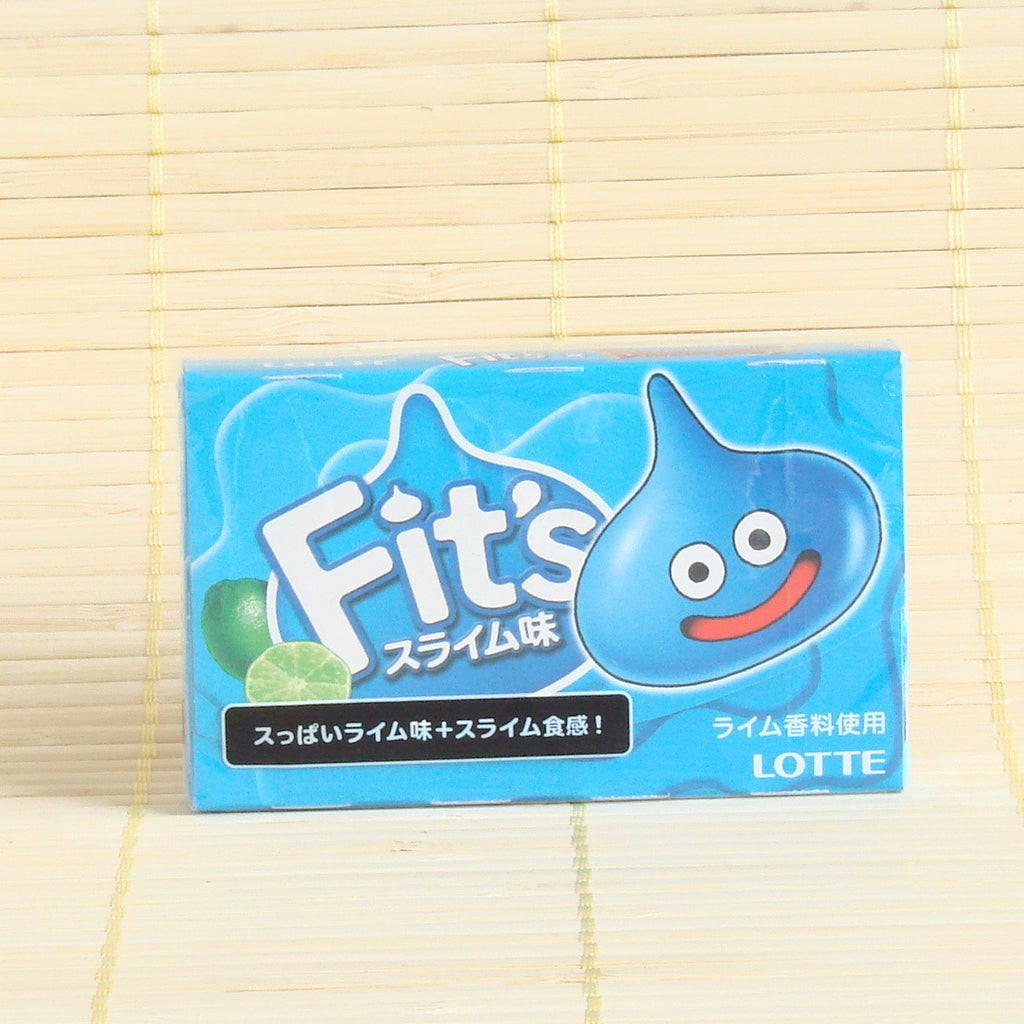 "Fit's Chewing Gum - ""SLIME"" Dragon Quest Lime"