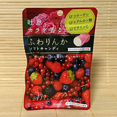 Fuwarinka Soft Candy - Mix Berry Rose