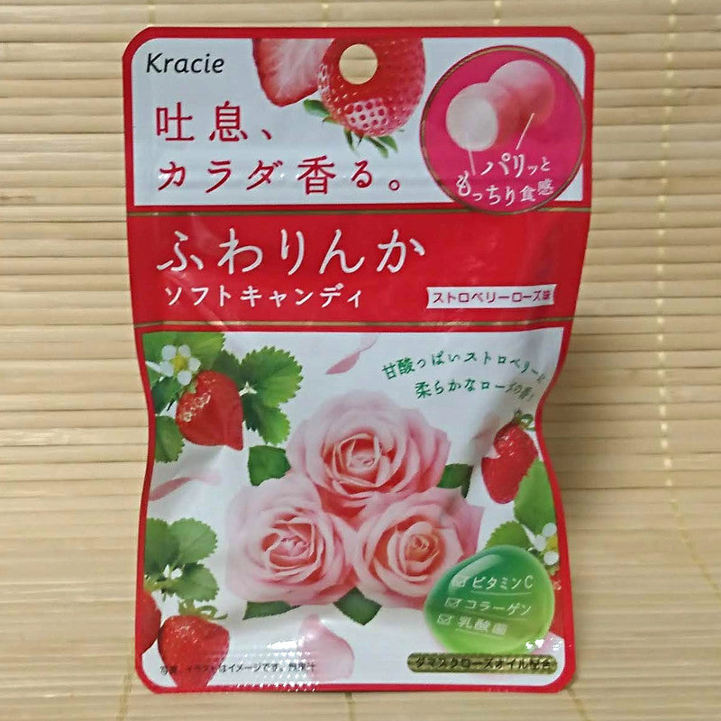 Fuwarinka Soft Candy - Strawberry Rose