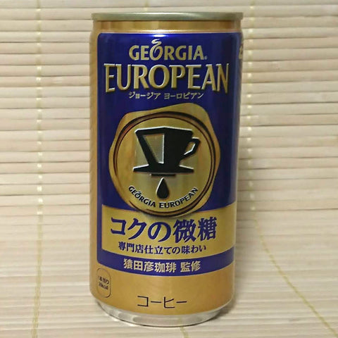 Georgia Coffee - European Full Body (Less Sugar)