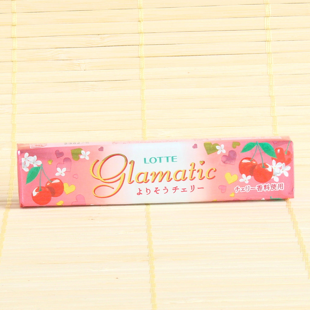 Glamatic Chewing Gum - Floral Cherry