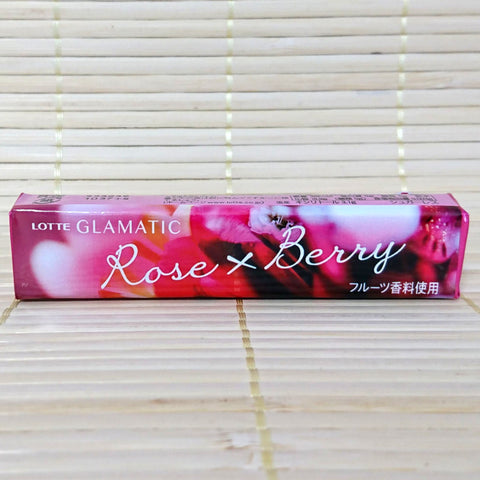 Glamatic Chewing Gum - Rose & Berry
