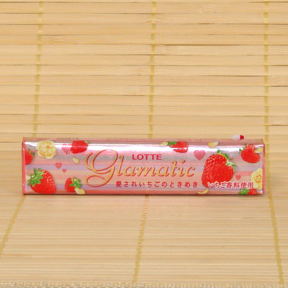 Glamatic Chewing Gum - Floral Strawberry