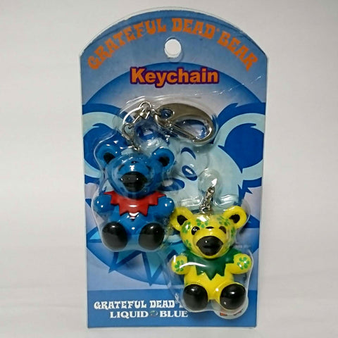 zz-- Grateful Dead - Double Bear KEYCHAIN --zz