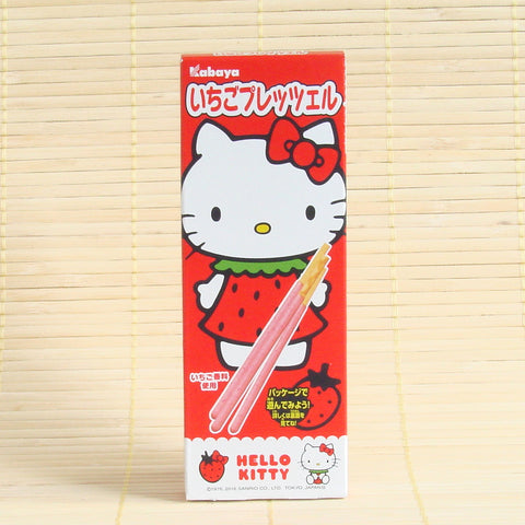 Hello Kitty - Strawberry Chocolate Cookie Sticks