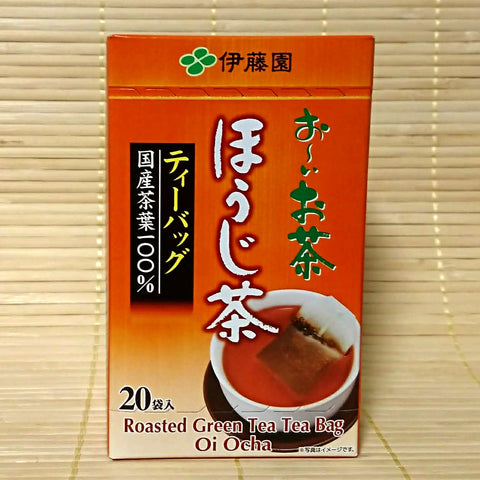 Itoen Oi Ocha - Houjicha Roasted Green Tea (20 bags)