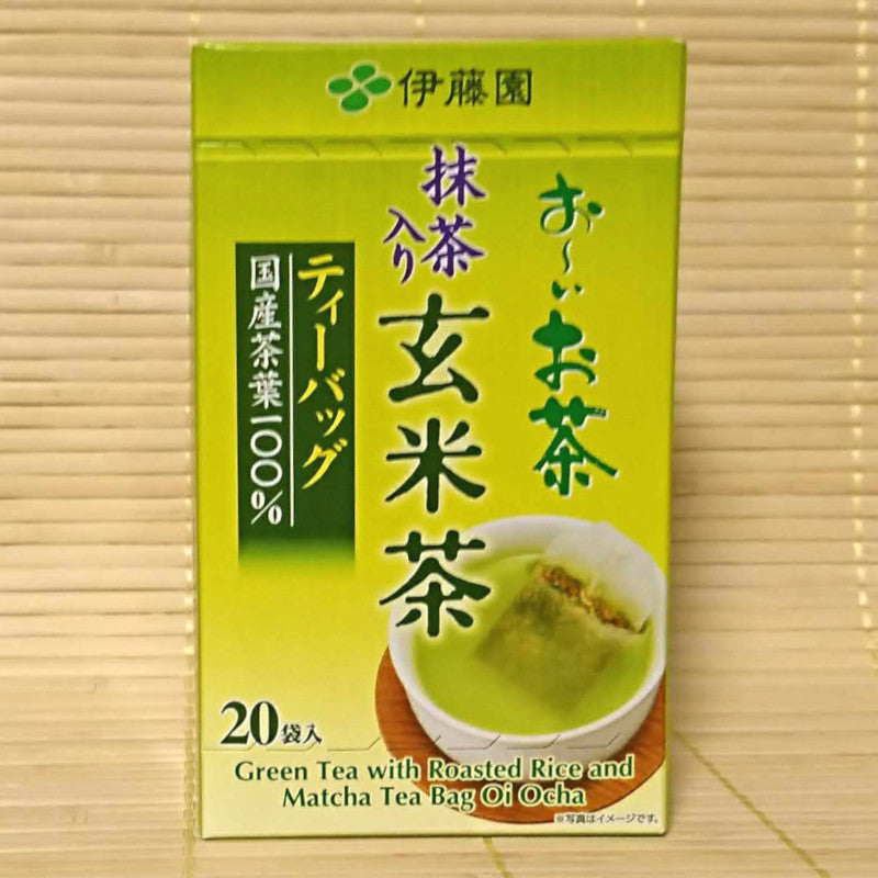 Itoen Oi Ocha - Green Tea and Roasted Rice (20 bags)