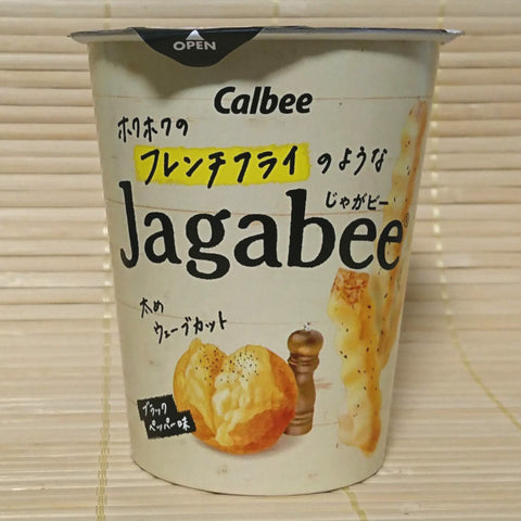 Jagabee Potato Sticks - Black Pepper