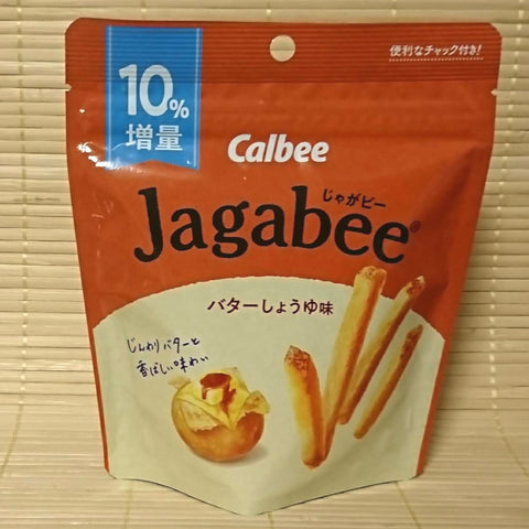 Jagabee Potato Sticks - Butter Soy Sauce