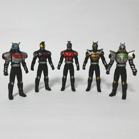zz-- Kamen Rider - Assorted Lot of 5 Mini Figures --zz