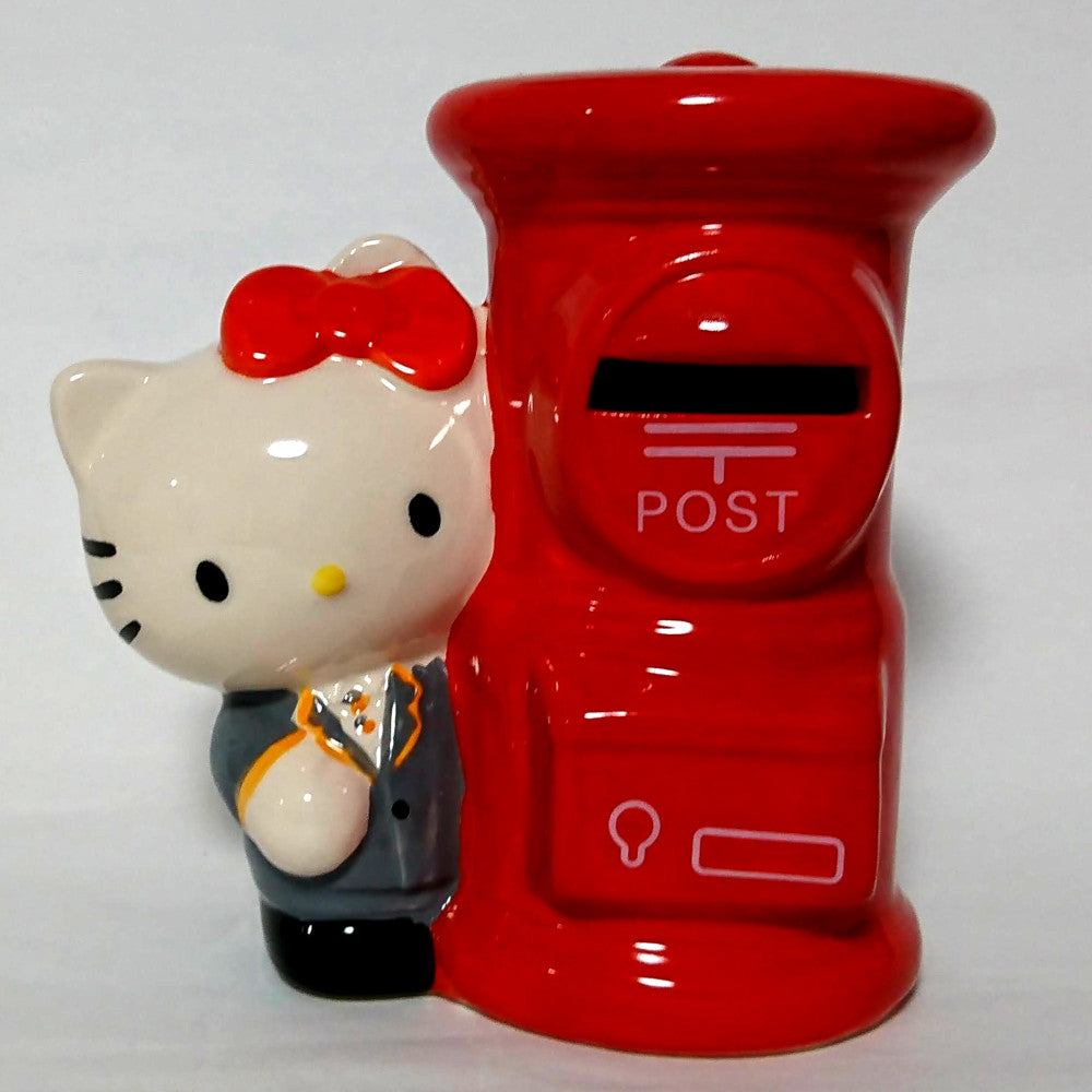 zz-- Hello Kitty Japan Post (Suit) - Coin Bank --zz