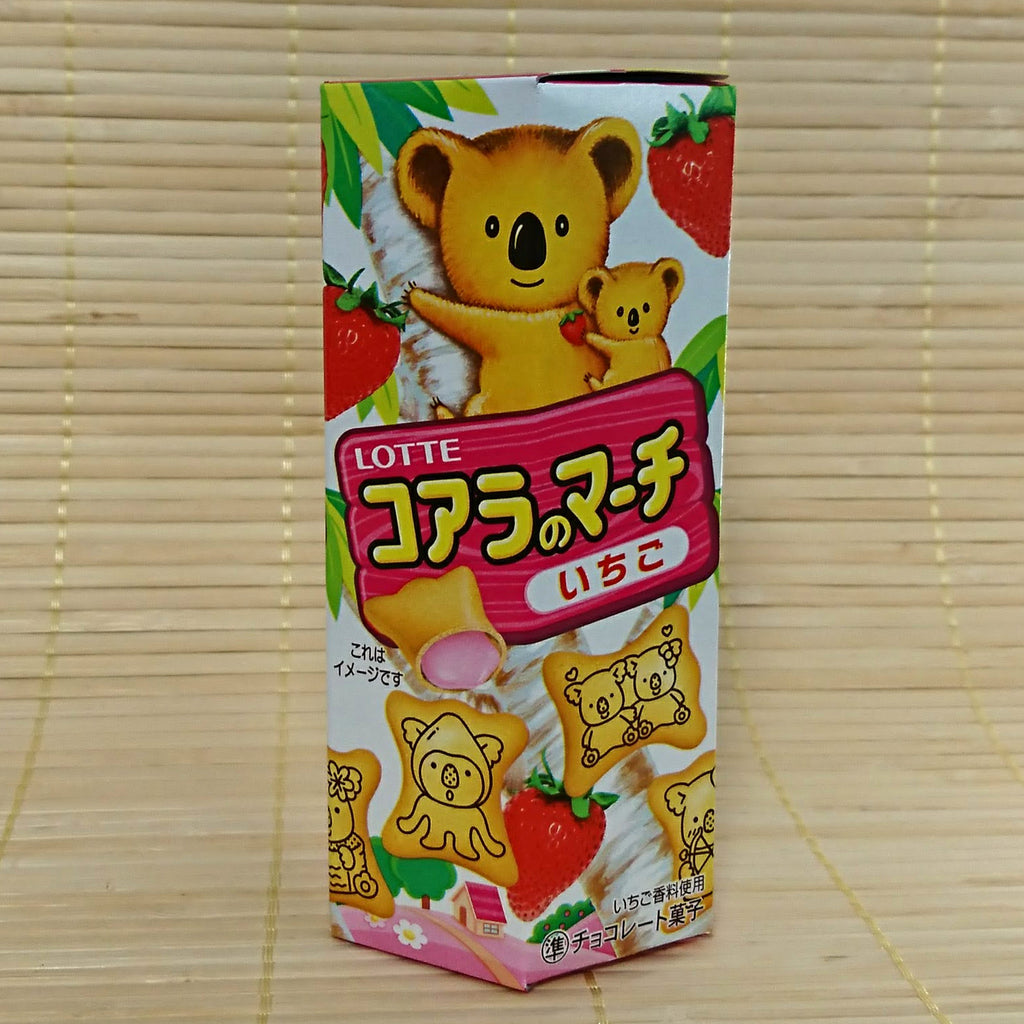 Koala No March Cookies - Strawberry Chocolate