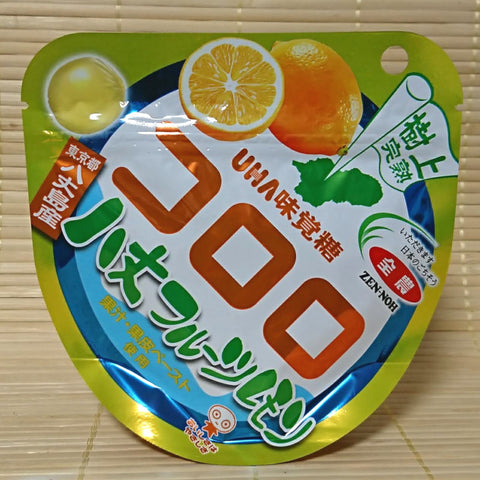 Kororo Gummy Candy - Hachijo Citrus & Lemon