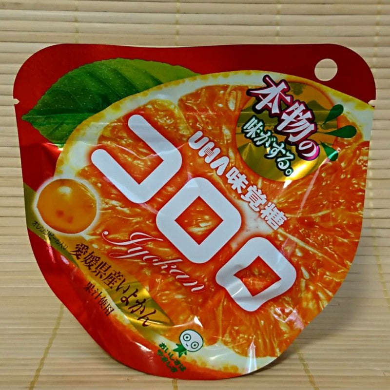 Kororo Gummy Candy - Iyokan Mandarin Orange