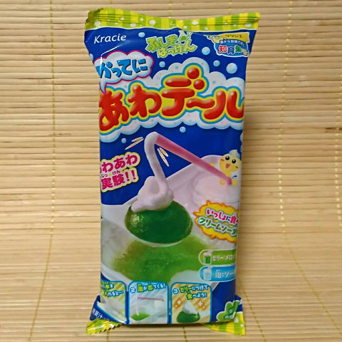 Katte Ni Awa Deru - Foam Jelly Melon Soda Candy Kit