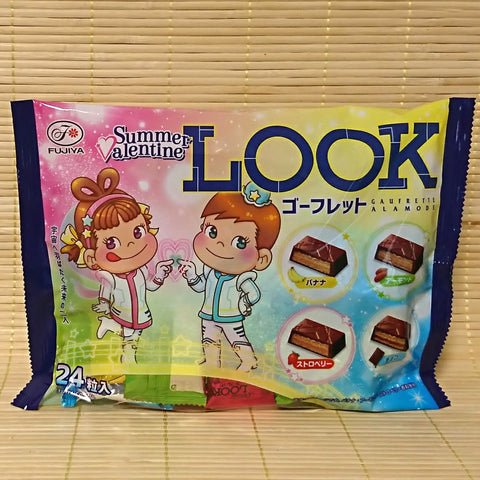 LOOK Wafer Chocolate - Summer Valentine (4 Flavor Mix)