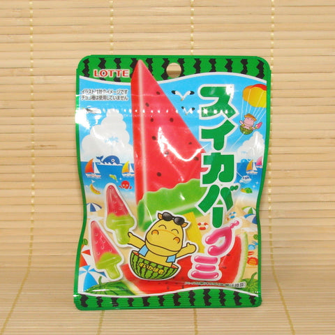 Lotte Gummy Candy - Watermelon Ice Pops